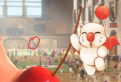 A Moogle from Disney-crossover game, Kingdom Hearts.