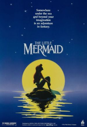 The iconic image of The Little Mermaid.