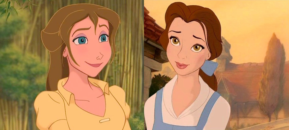 Tarzan S Jane Is Descended From Beauty And The Beast S