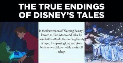 The True Endings Of Disney's Fairy Tales | DisneyTheory.com