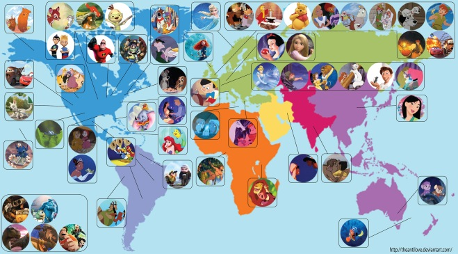 30 Disney Movies That Share A World