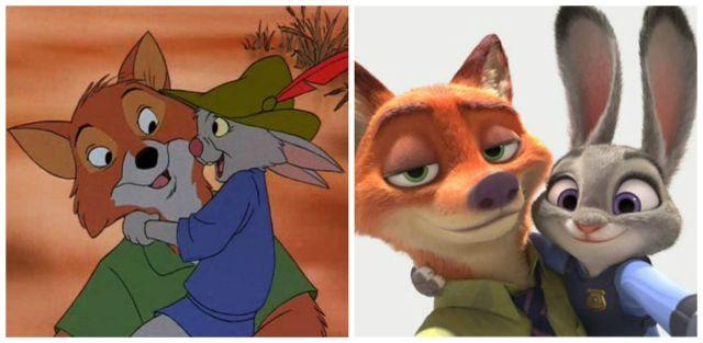 Nick + Judy Robin Hood